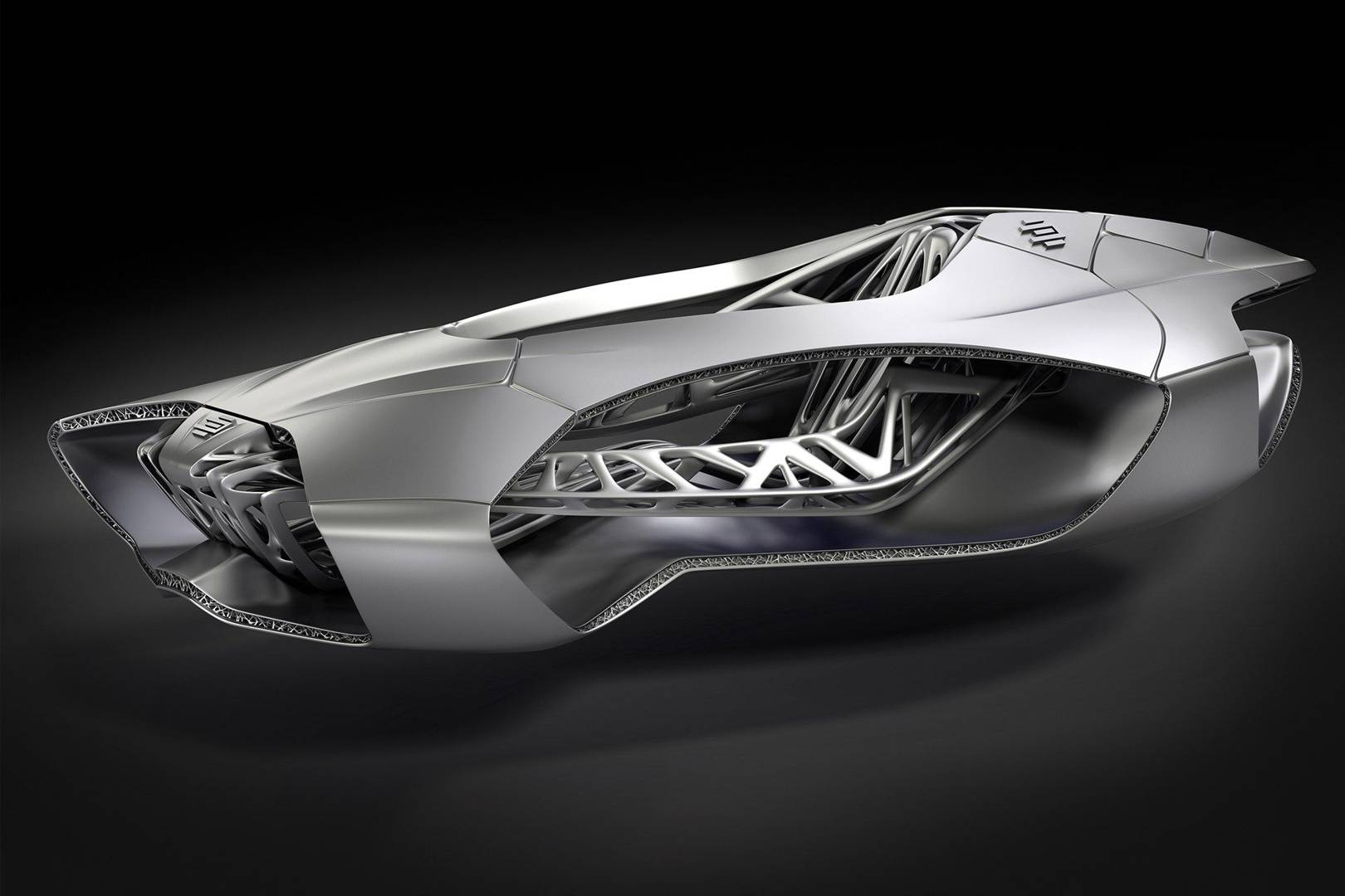 3D printed car inspired by turtle skeleton | WIRED UK