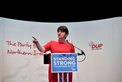 DUP leader and former First Minister Arlene Foster