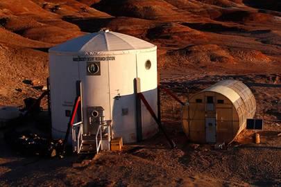 The Mars Society's Mars Desert Research Station (MDRS) in Utah