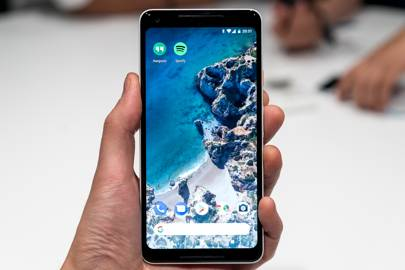The Google Pixel 2 XL.