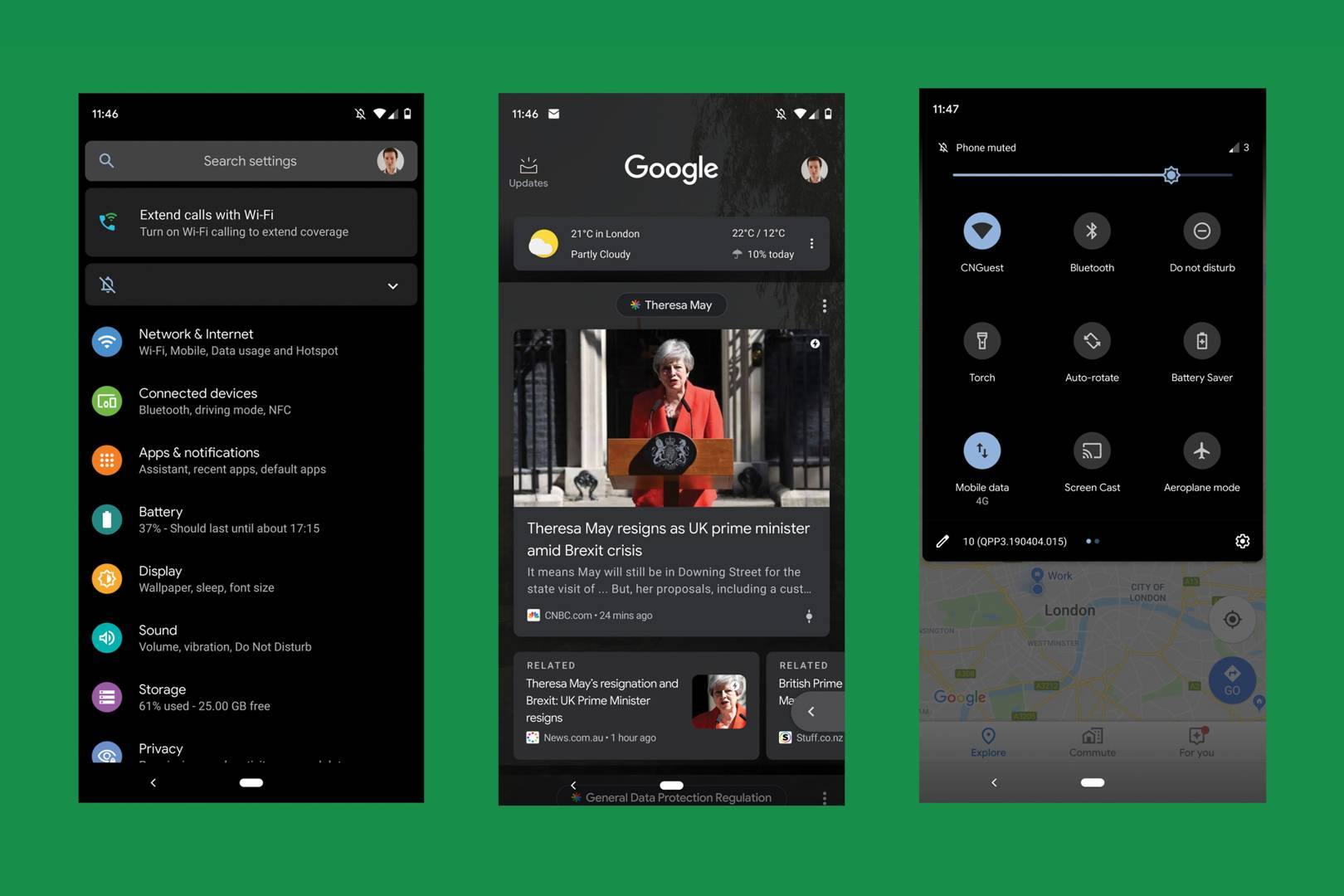 Android Q's dark mode is the best update Google has made for