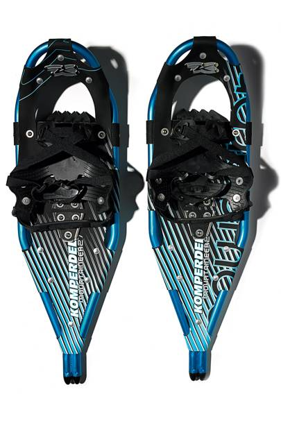 Winter Walkers -- Komperdell Mountaineer Snowshoes