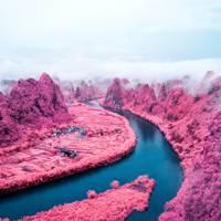China's neon hills