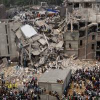 The April 2013 Savar building collapse in Dhaka, Bangladesh
