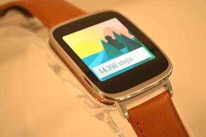 Asus ZenWatch is a classy Android Wear timepiece