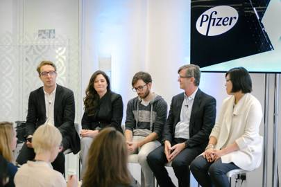 The Pfizer breakout session at WIRED Health on March 9, 2017