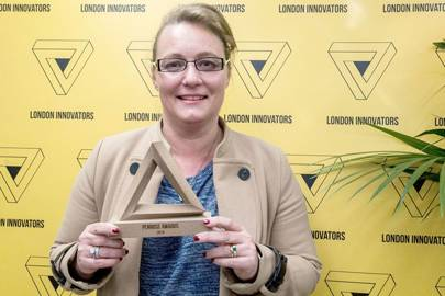 Leanne Kemp, founder of Everledger – 2016 Innovator of The Year