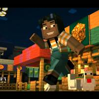 Minecraft Story Mode Review Building On Greatness Wired Uk