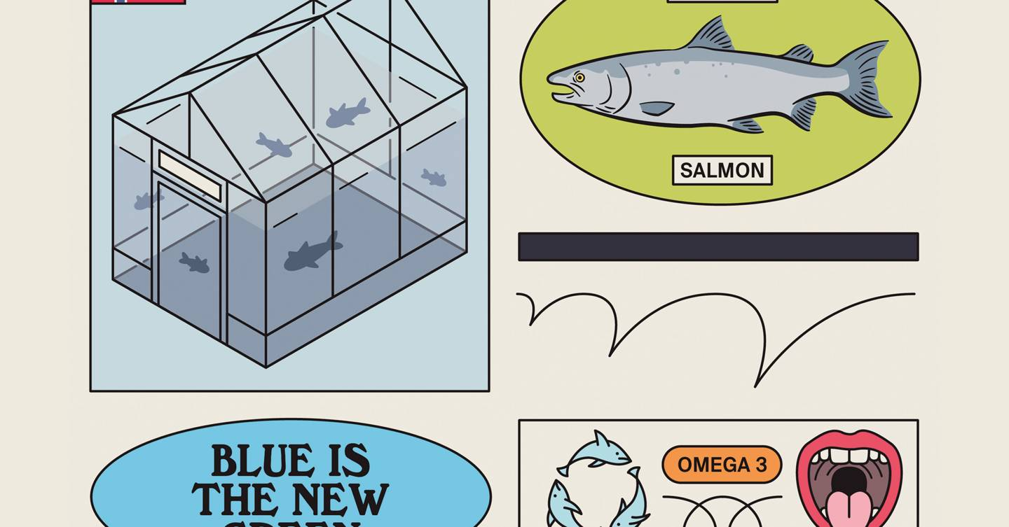 It's time to start farming salmon on land in eco-friendly bluehouses