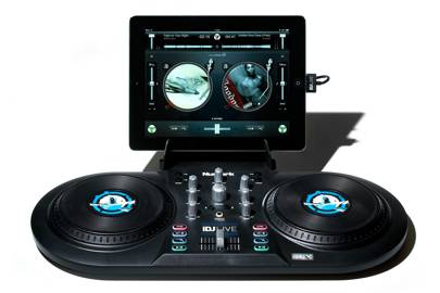 Tablet turntables