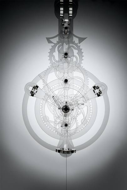 Ghostly Timepiece