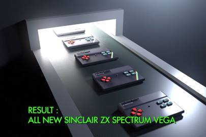 Retro console Spectrum Vega to be made in the UK