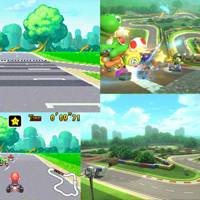 Mario Circuit (All of them)