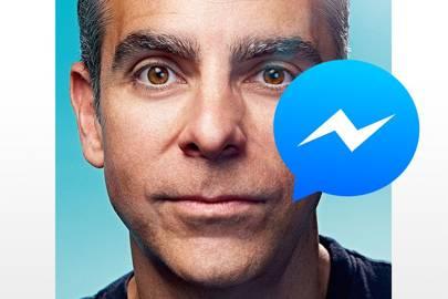 Facebook Messenger Inside Mark Zuckerbergs App For Everything - Siris human face finally revealed