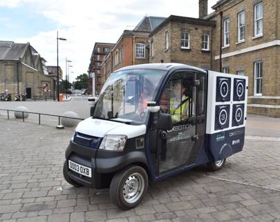 UK's first autonomous grocery delivery trials take place