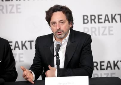 Alphabet president Sergey Brin