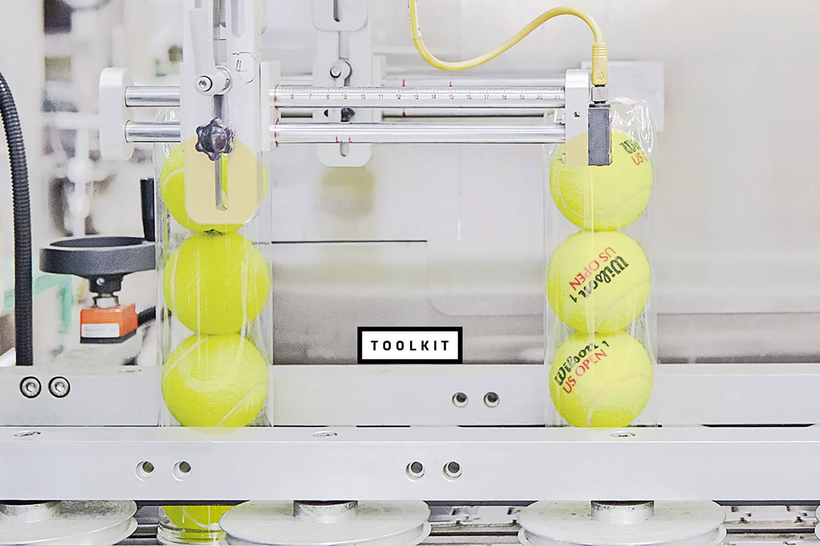 Game, set and match: how tennis balls are made inside Wilson's factory
