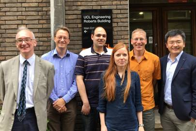 The research team behind MuScalpel, from left to right, Bill Langdon, Mark Harman, Alex Marginean, Justyna Petke, Earl Barr, Yue Jia