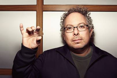 Founder Rony Abovitz displaying Magic Leap's mysterious photonic light-field chip in March