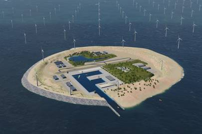 Artificial islands in the North Sea could power millions of UK homes