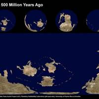 Earth 500 Million Years Ago