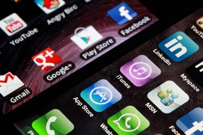 "The Cyberspace Administration of China says that app stores are allowing ""illegal information"" to be disseminated."
