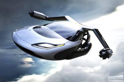 Terrafugia flying car designs take flight in video