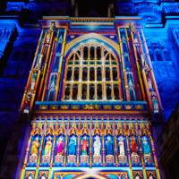 The Light of the Spirit by Patrice Warrener at Westminster Abbey