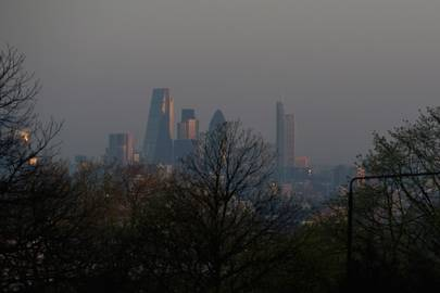 London is on high alert due to severe pollution levels