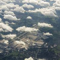 Gatwick Airport aerial photo