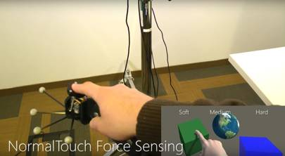 Microsoft makes VR controllers that let you feel