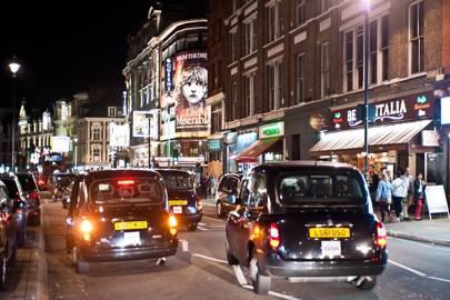 6. London taxi
