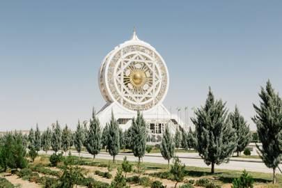 Inside Ashgabat, Turkmenistan's absurd city of world records