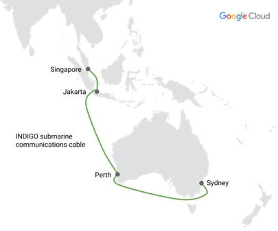 Google's next submarine cable will connect Singapore to Australia
