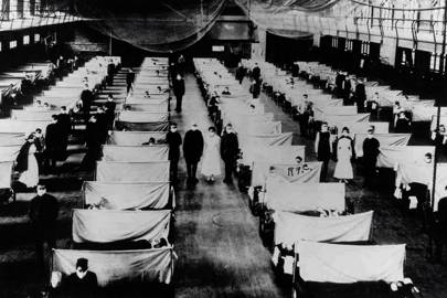 A warehouse where patients were quarantined during the Spanish Flu in 1918, which killed an estimated 50-100 million people