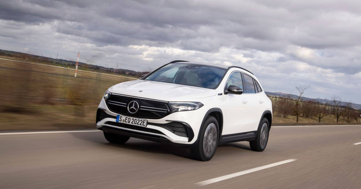 The Mercedes EQA is more underwhelming than electrifying