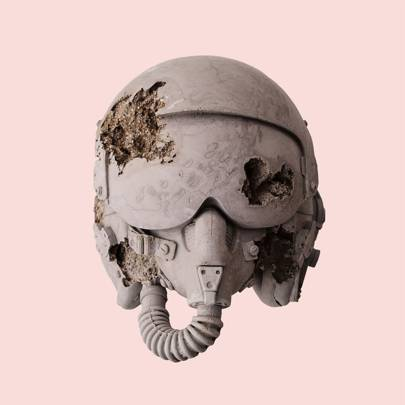 It's all in the decomposition: everyday items are transformed into eerie-looking 'fossils'