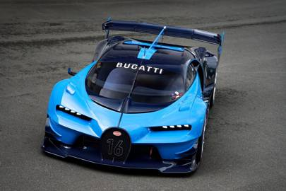 Bugatti S Gran Turismo Concept Is Real And Totally Absurd Wired Uk