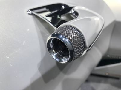 Traditional wing mirrors are replaced with cameras