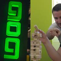 GOG.com's Guillaume Rambourg giving Jenga advice