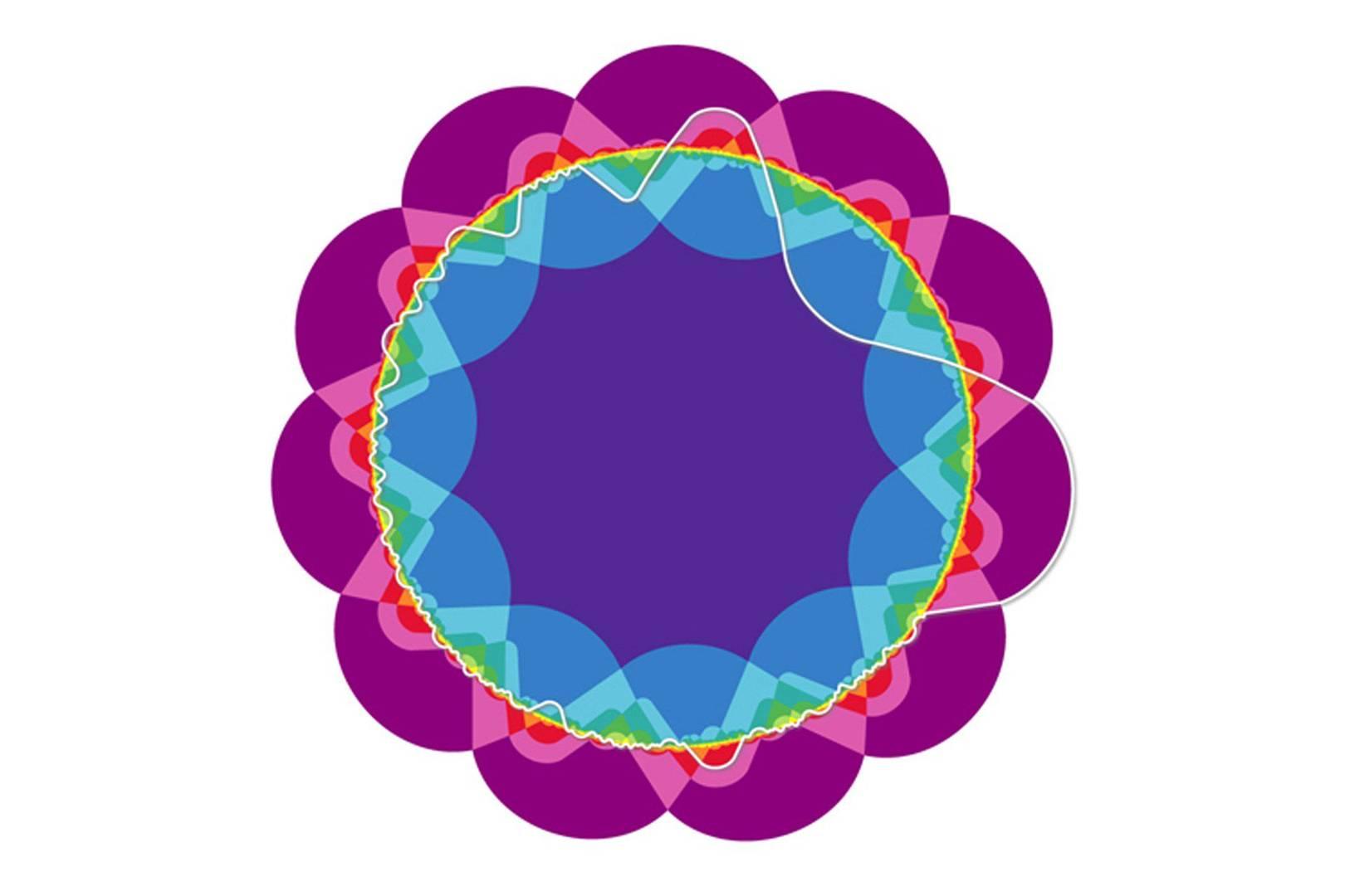 Mathematicians grow an 11 set venn diagram rose wired uk pooptronica