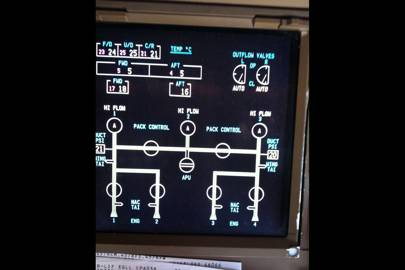 The 747-400 fuel system diagram in the image below allows a pilot to very quickly assess visually whether fuel is flowing between a given fuel tank and the aircraft's engines