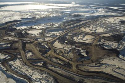Large-scale exploitation of the Canadian oil sands was only made possible by technological developments in recent decades