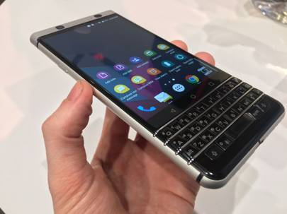 BlackBerry's 2017 'Mercury' phone is being manufactured by TCL and is set to be sold in North America and Europe initially. It launches at Mobile World Congress in February