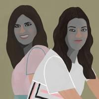Chic by Choice co-founders Lara Vidreiro (left)and Filipa Neto