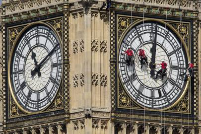 Big Ben S Bong Is About To Be Silenced Until 2021 Wired Uk