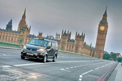Before the facelift the NV200 looked like a regular people carrier