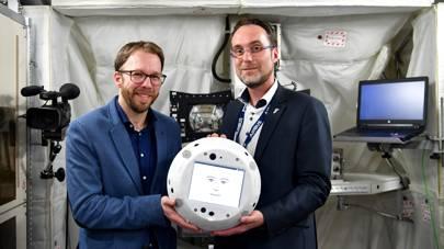 CIMON ISS AI robot
