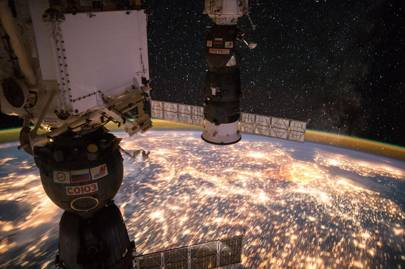 Earth observation taken by Expedition 49 crew