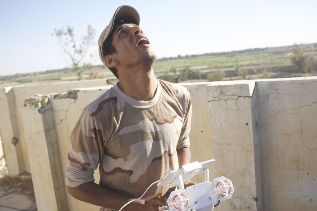 Iraqi militias are using consumer drones to fight Isis